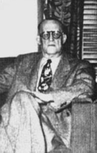 A picture of dr bob one of the founders of alcoholics anonymous